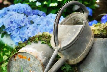 Gartendetails - Dekoration - Gießkanne