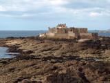 fortification sur la côte poster