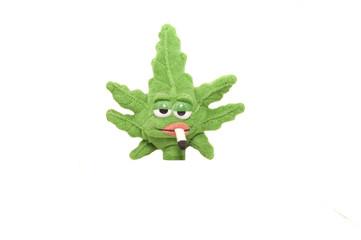 peluche hoja marihuana