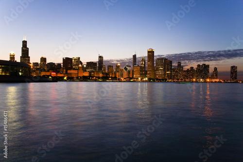 Plexiglas Grote meren Chicago, IL