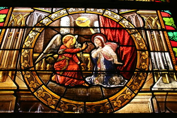 Mary, Angel and Dove