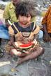 Poor Beggar Girl