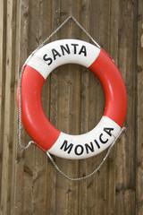 Life buoy of Santa Monica