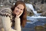 Beautiful Scandinavian Woman poster