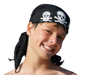 Pirat lachend