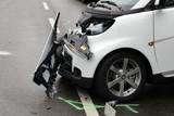 blechschaden bei einem auto