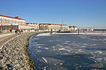 Boltenhagener Hafen im Winter
