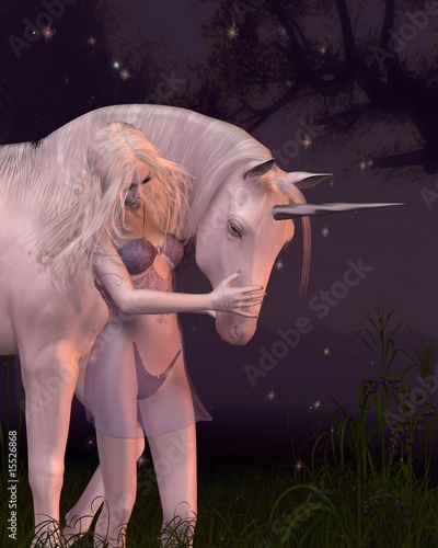 Poster Pony The Unicorn and the Virgin
