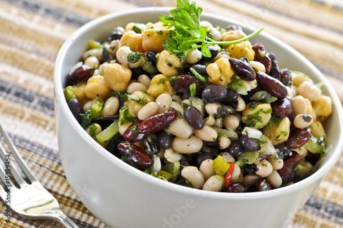 Aluminium Salade Bean salad