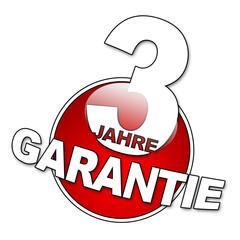 3 Jahre Garantie Button 2