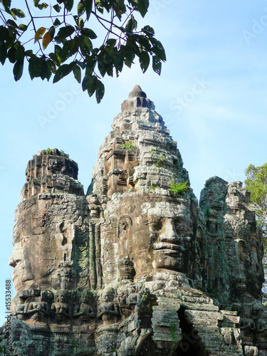 heads of king jayavarman vii