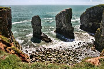 Stackpole rocks, south Wales, United Kingdom