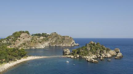 Isola Bella near Taormina in Sicily, Italy