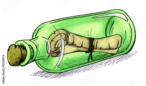 Flaschenpost - 15539074