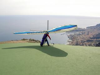 Startplatz Monaco Drachenfliegen