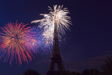Paris 14 juillet 2009 - 120 ans de la Tour Eiffel