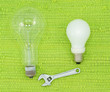 Leinwandbild Motiv lamp