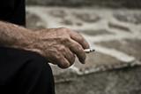 Vecchio fumatore poster