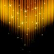 goldener vorhang mit glitzer