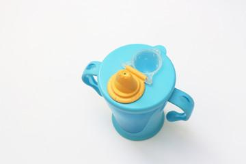 Blue baby beaker