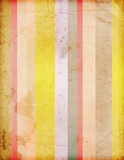 Fototapety retro stripes on aged paper