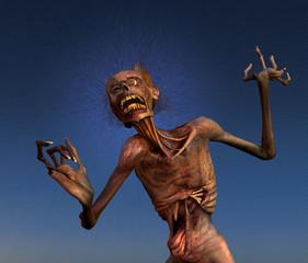 Shrieking Zombie