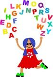 alphabet juggle poster