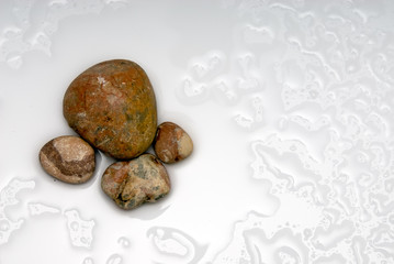 isolated stones