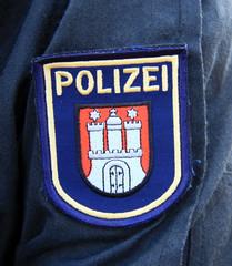 Hamburger Polizei (Detail)