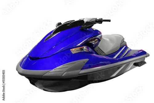 front view of jet-ski isolated - 15583403