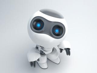 robot i face top