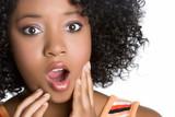 Shocked Black Girl poster