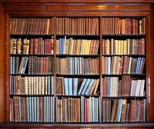Alte Bibliothek Bücherregal