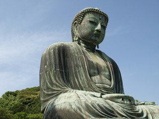 Gran buda en Kamakura (Japon)