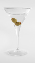 Martini. French drink