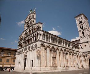 The church of San Michele in Foro of Lucca