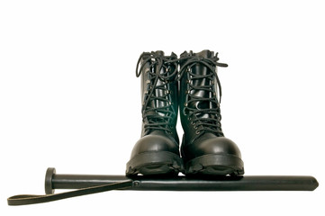 botas negras 12