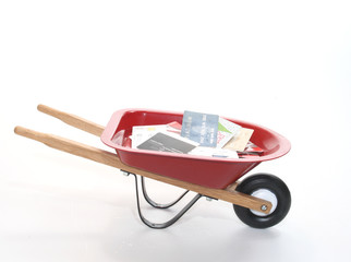 Wheel Barrow of Debt
