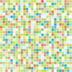 Vector Seamless Colourful Tiles.