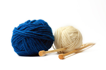 yarns isolated on a white background
