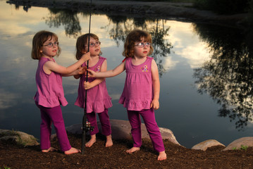 Triplets Fishing