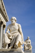 Vienna - statue of philospher thucydides for parliament