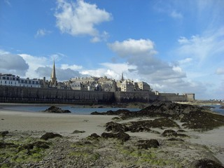 Saint Malo les fortifications