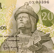Garcia de Orta on 20 Escudos 1971 Banknote from Portugal