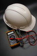 electrical measurement and helmet