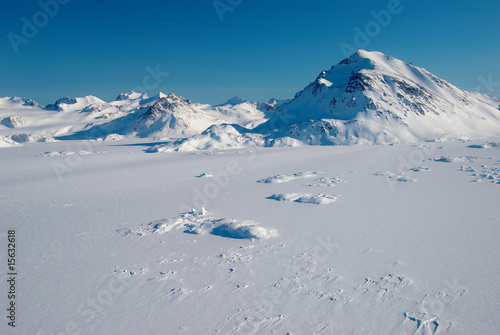 Foto op Plexiglas Antarctica 2 Greenland, mountains
