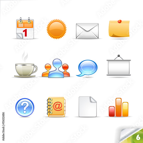 Infinity Collection | Icon set 6 | Office pack