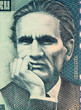 Cesar Vallejo on 10000 Indis 1988 Banknote from Peru