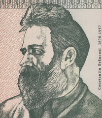 Constantin Brancusi on 500 Lei 1992 Banknote from Romania