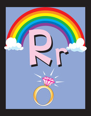 Flash Card Letter R nouns. See whole alphabet in my series!